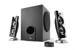 Wow.Wow....Powered speakers system   Cyber Acoustics CA-SP24 45$