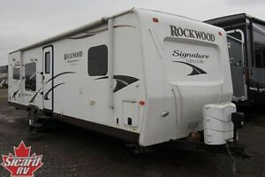 2014 FOREST RIVER ROCKWOOD SIGNATURE ULTRA LITE 8310SS