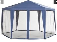 Hexagon Gazebo With Mosquito Net - NEW IN BOX