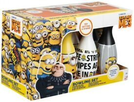 Despicable Me 3 Bowling Set - Brand new - Boxed and unopened.