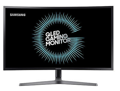 "SAMSUNG C32HG70 32"" C Gaming Curved Monitor with Class 144Hz WQHD HDR"