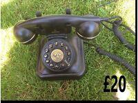 Antique replica telephone