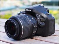 Nikon D5200 with Tamron 18-200mm vc lens