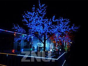 Da esterno 60 LED Ad Energia Solare Fatato Filo Di Luci Giardino Natale  eBay