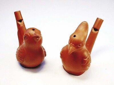 npfeife Wasserpfeife Vogelpfeige Vogelflöte aus Ton NEU (Wasserpfeife Vogel)