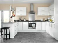 WHITE HIGH GLOSS NEW KITCHEN UNITS - ''PRICE REDUCED FOR QUICK SALE''