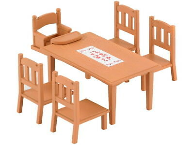 Sylvanian Families Calico Critters Family Table & Chairs Set for sale  Shipping to India