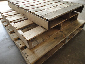 Wanted Free Wooden Pallets