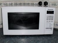 Panasonic Microwave Oven NN-E271W only a few weeks old.