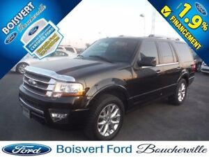 2015 Ford Expedition Limited FULL CUIR-TOIT-GPS-AWD