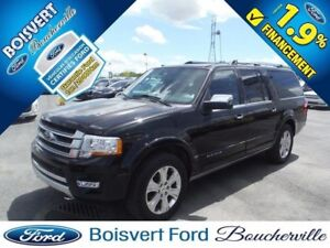 2017 Ford Expedition max Platinum CUIR-TOIT-NAV -GPS