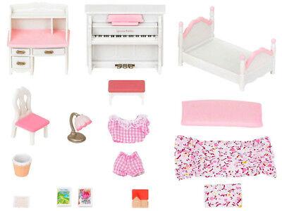 Calico Critters Girls Bedroom Set - Sylvanian Families Calico Critters Furniture Girl's Bedroom Set