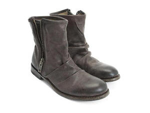$389 John Fluevog Boots, Malcolm, Brown, 9.5 - 10, NEW