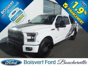 2016 Ford F-150 LARIAT EDDITION SPLASH