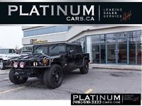 2004 Hummer H1 AM GENERAL ALPHA/PREDATOR GUARD/ LEATHER/ ROCKSTA