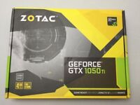 Zotac Nvidia 1050Ti graphics card