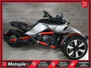 2015 Can-Am Spyder F3S SM6 Comme Neuf - 76$/SEMAINE