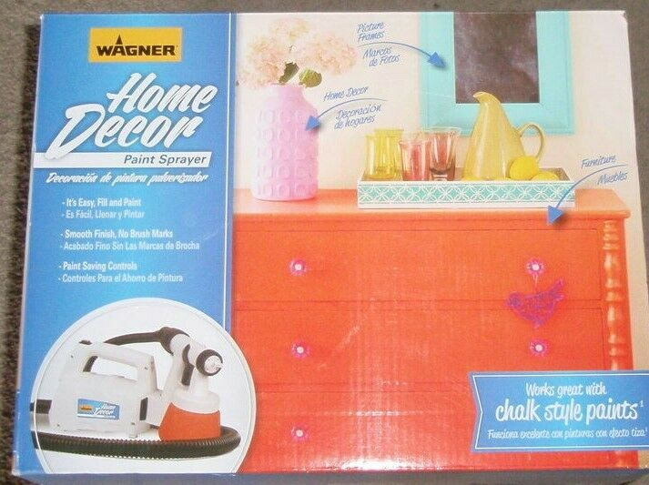 HVLP Stationary Paint Sprayer Home Decor Chalk Milk Painting