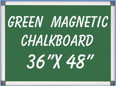 Magnetic Green Chalkboard Menu Sign Board 36 X 48