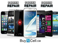 SMARTPHONE SCREEN REPAIRS - ALL MODELS - 5 REPAIR CENTERS