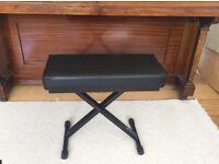 Piano keyboard stool bench seat like New Brand Tiger