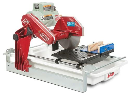 "NEW MK DIAMOND MK-101 TRIM SAW  1-1/2"" HP, 10"" WET CUTTING TILE SAW w/ ROCK VISE"