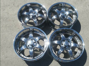 "20"" CHROME RIMS by Klasse Motorsports 5x114.3mm or 5x4.5"""