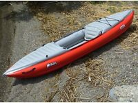 Gumotex - Helios 1 Inflatable Single Kayak with Dry Bag and Fin Brand New Unused
