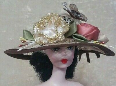 FITS Barbie Vintage, Silkstone and Reproduction Doll HANDMADE Clothes Dress Hat