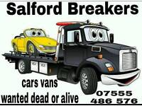 Scrap cars vans wanted dead or alive