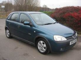 2002 OPEL CORSA 1.4 5 DOOR LOW MILEAGE