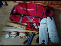 Job lot of cricket items