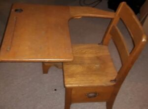 Antique Children School desk