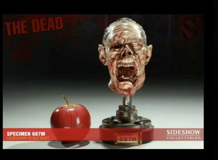 RARE SIDESHOW THE DEAD SPECIMENS 687M NEW UNOPENED, SCALE BUST STATUE