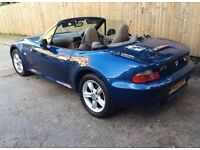 2002 BMW Z3 1.9l ROADSTER SOFT TOP CONVERTIBLE LOW MILAGE STUNNING SUMMER CAR