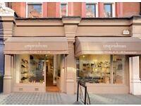 Sales Assistant in an Upmarket shoe shop-Crispins Shoes