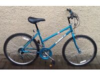 "Bike/Bicycle. GIRLS MAGNA "" SHALE 15 "" MOUNTAIN BIKE. SUIT 9-12 YEARS"