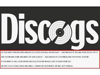 Records & CD's for cash - We LOVE discogs sellers