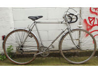 Vintage racing french bike CYCLES GITANE frame 23inch serviced & warranty - Welcome for cup of tea