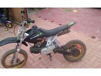 125cc pitbike SWAP