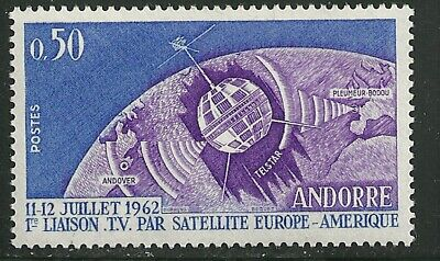 ANDORRA, FRENCH SCOTT # 154  MINT NEVER HINGED NH