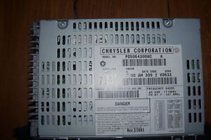 CHRYSLER PT. CRUISER,JEEP ECT.AM &FM RADIO CASSETTE London Ontario image 2