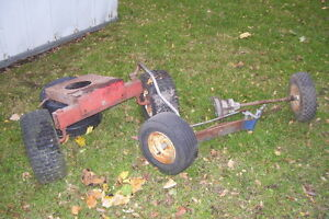 LAWN TRACTOR FRONT AXEL & PARTS London Ontario image 8