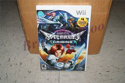 Spectrobes Origins Nintendo Wii Game Sealed Disney