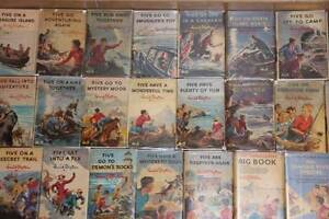 Enid-Blyton-Copy-Dust-Jackets-Famous-Five-and-More