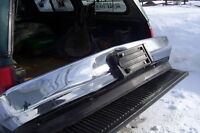 97 GMC FRONT BUMPER CHROME SOLID SMALL DENT