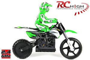 ★New 1/4 Scale MX400 Radio Control 2.4Ghz Electric RC RTR Motocross Motorcycle ★