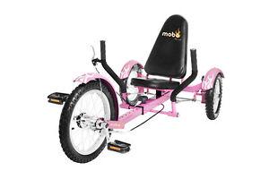 MOBO Triton 3  Wheeled Trike Bike Recumbent 4 Colors