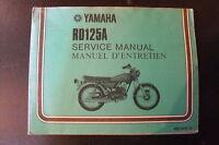 YAMAHA RD 125  repair manual. 25$