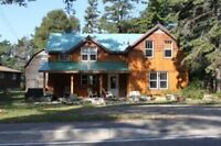 Large 4 Bedroom Camp for Rent - On Trail Plan - Fishing, Campers